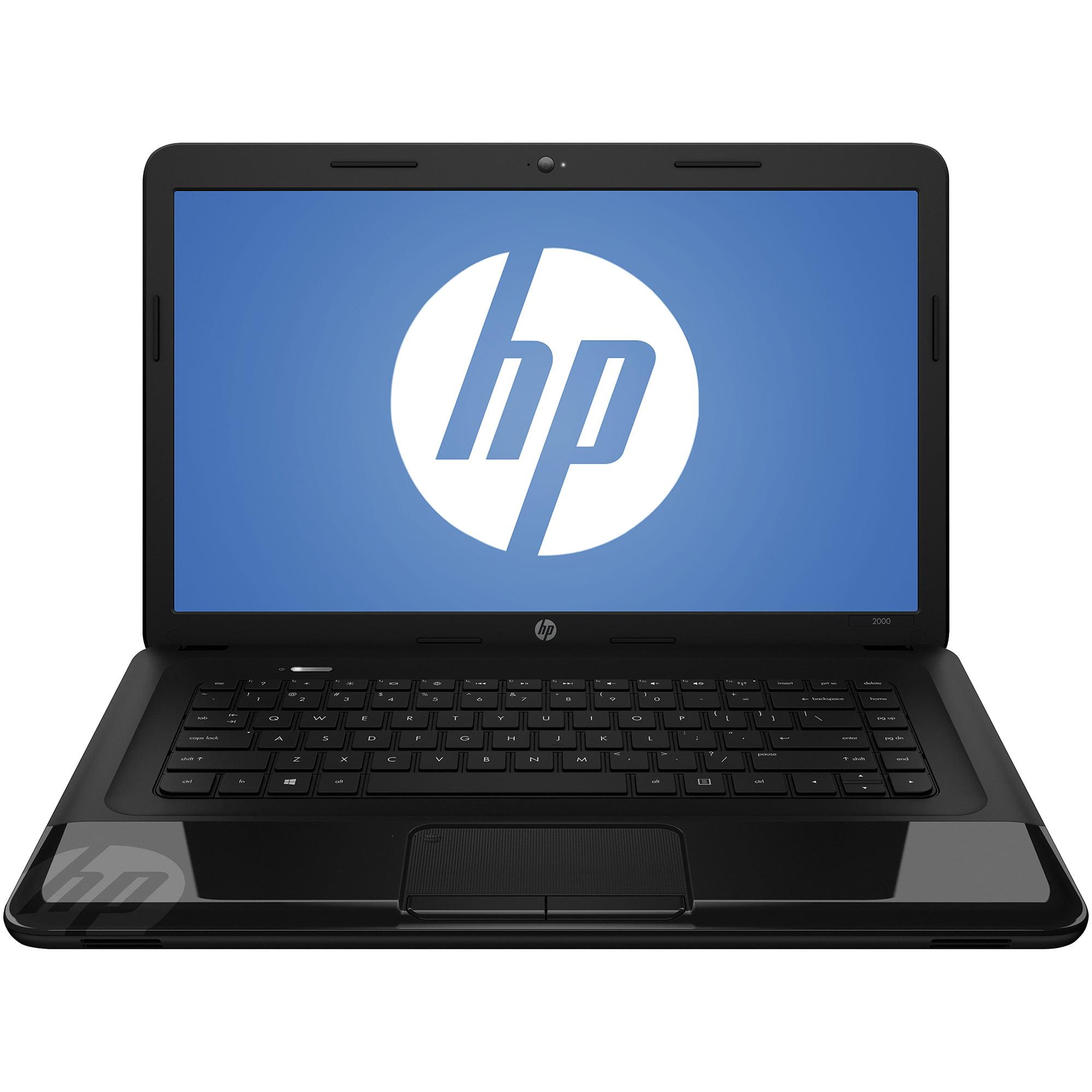 "HP Refurbished Black Licorice 15.6"" 2000-2b29WM Laptop PC with Intel Pentium B960 Processor and Windows 8 Operating System"