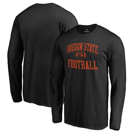 Neutral Block (Oregon State Beavers Fanatics Branded Neutral Zone Long Sleeve T-Shirt - Black )