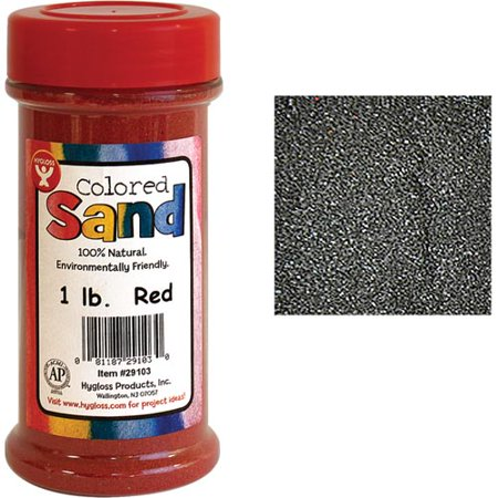 Hygloss Colored Sand (1 lb. jar)