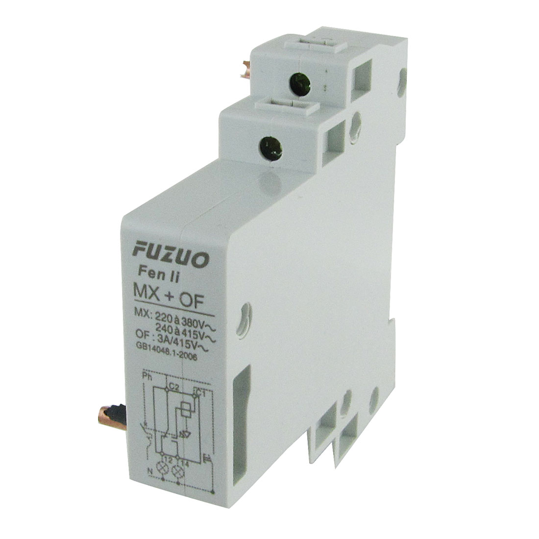 Unique Bargains Dz47 Mcb Circuit Breaker Mx Of House China High Quality Auxiliary Contact Shunt Release New