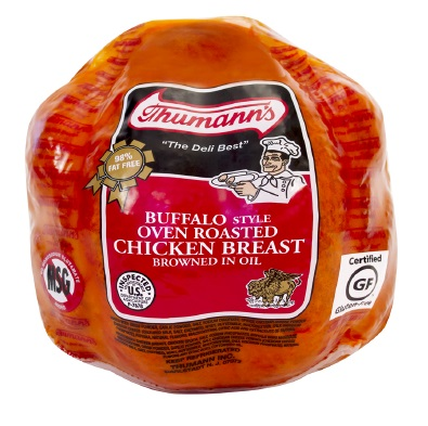 Thumann's Buffalo Style Oven Roasted Chicken Breast, Deli Sliced