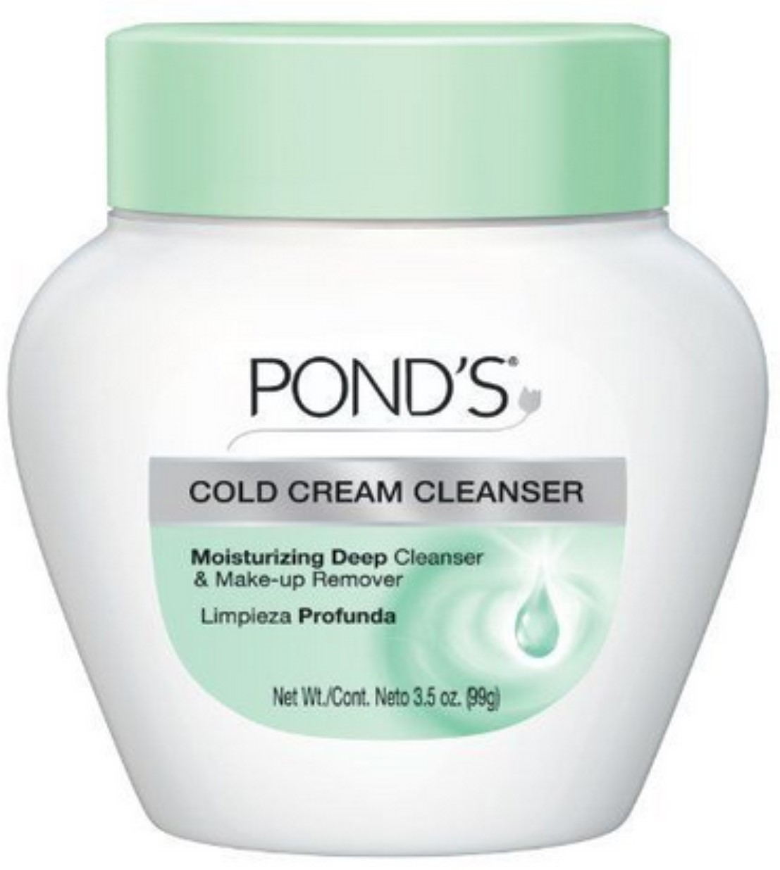 Pond's Cold Cream Cleanser 3.50 oz (Pack of 6)