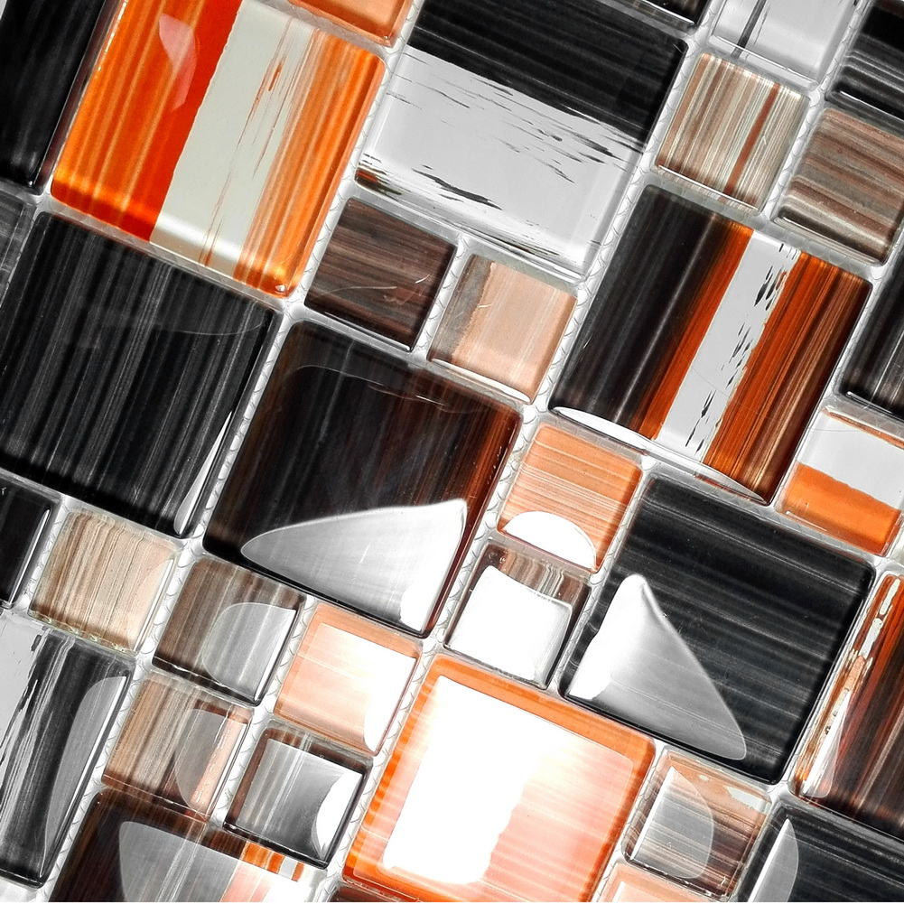 Colorful Plaid - 3-Dimensional Mosaic Decorative Wall Tile(Sample)
