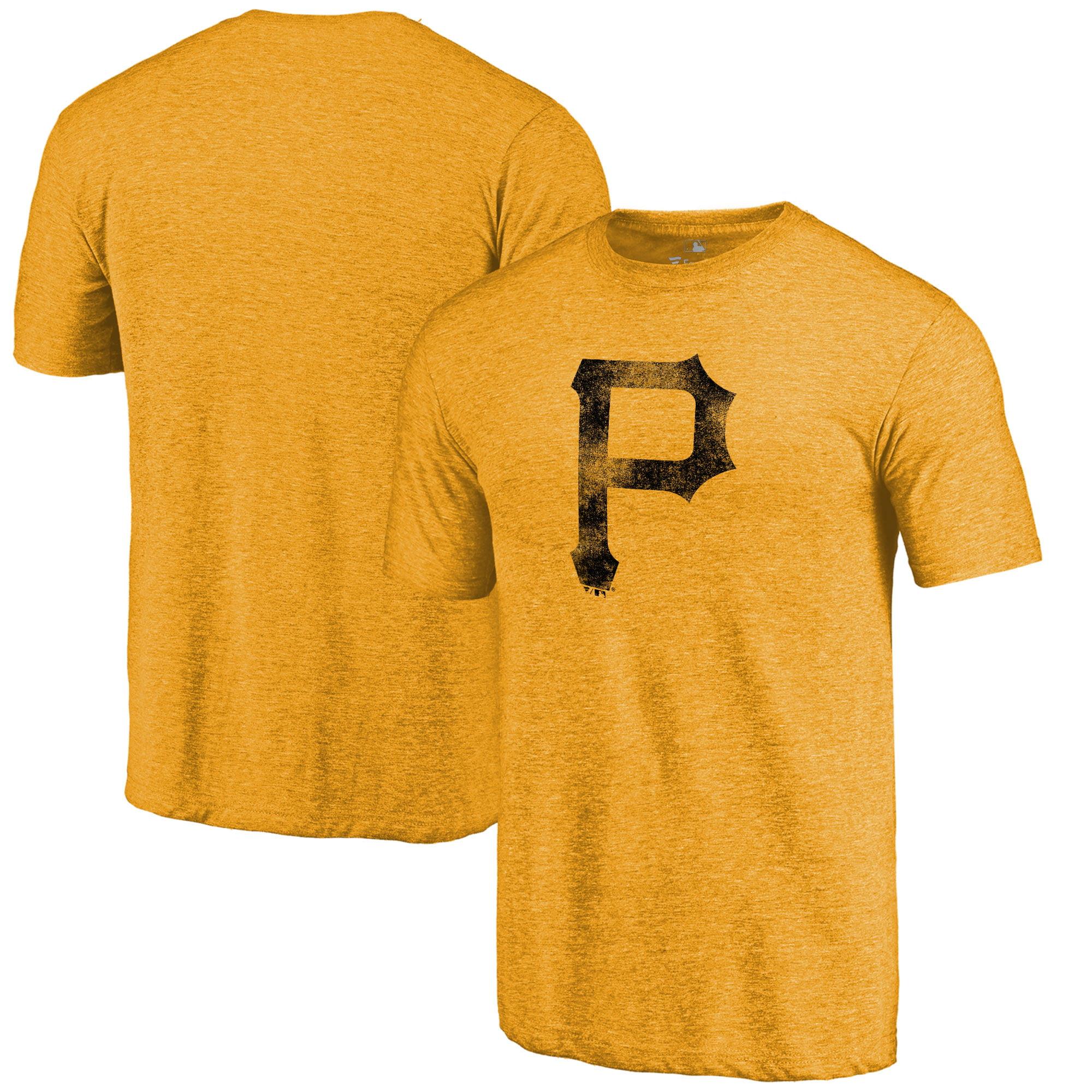 Pittsburgh Pirates Fanatics Branded Team Tri-Blend T-Shirt - Gold