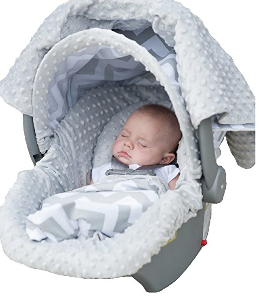 Carseat Canopy 5 Pc Whole Caboodle Baby Infant Car Seat Cover Kit with Minky ... - Walmart.com  sc 1 st  Walmart : canopy seat - afamca.org