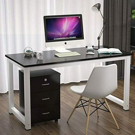 Ktaxon Wood Computer Desk PC Laptop Study Table Workstation Home Office Furniture ()
