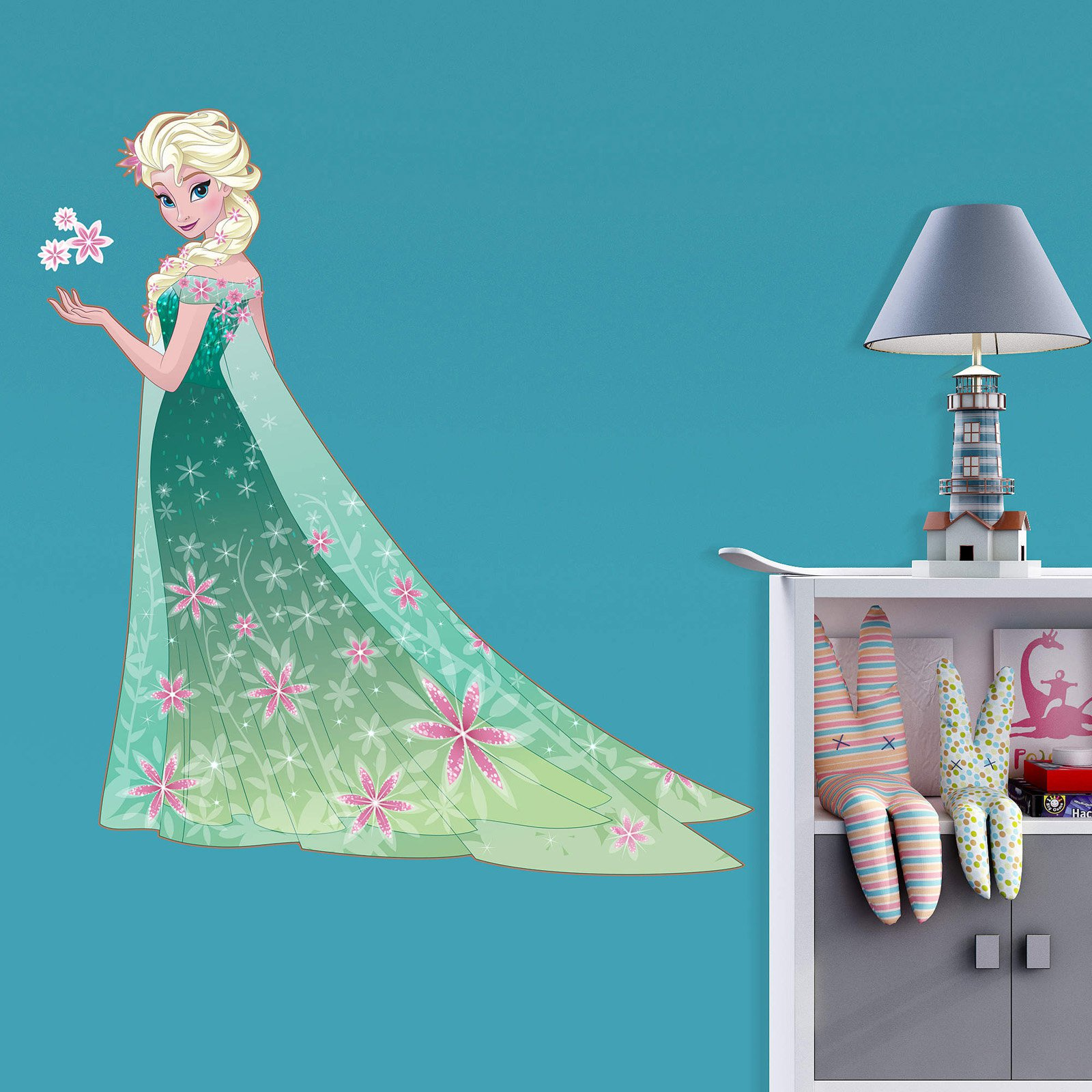 Fathead Frozen Fever Elsa Junior Wall Decal