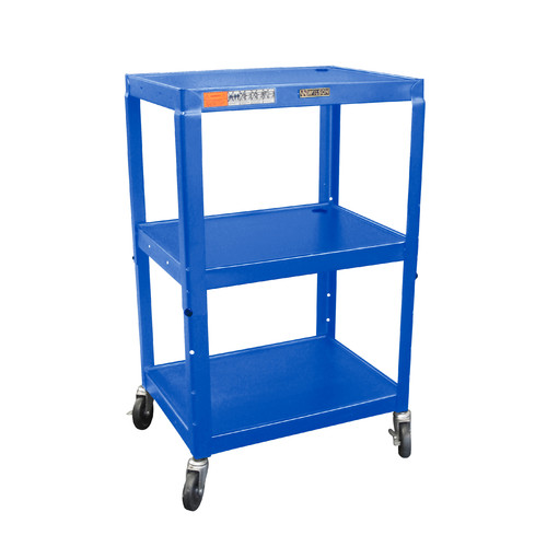 Luxor H Wilson Adjustable Height AV Cart