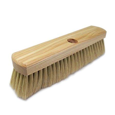 "Braun 712T Flat Back Brush 12"" With Handle (Flat Back No Holes)"
