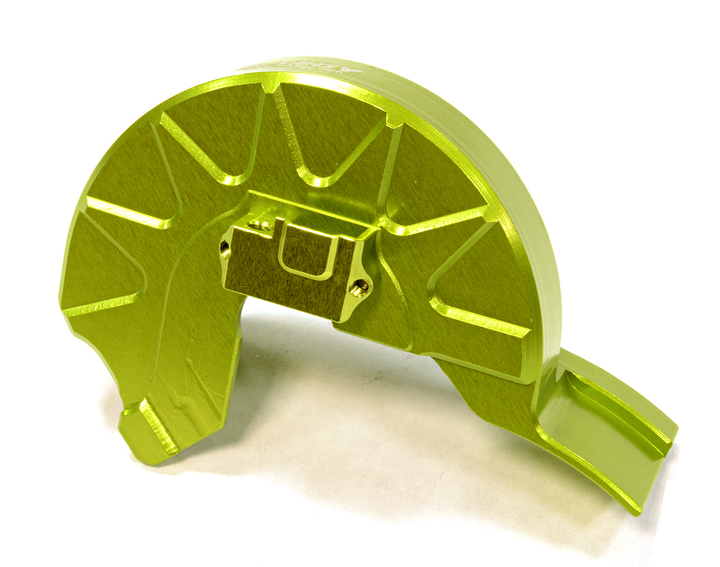 Integy RC Toy Model Hop-ups C25775GREEN Billet Machined Gear Cover for Traxxas 1 10 Summit by Integy