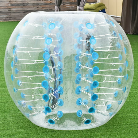 1 PC 1.5M Inflatable Bumper Ball Body Zorbing Ball Zorb Bubble Soccer/Football - image 8 de 8