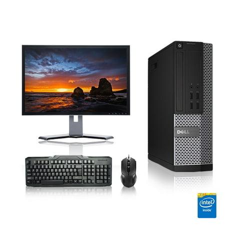 Dell Optiplex Desktop Computer 3.1 GHz Core i3 Tower PC, 4GB, 160GB HDD, Windows 10 x64, 17