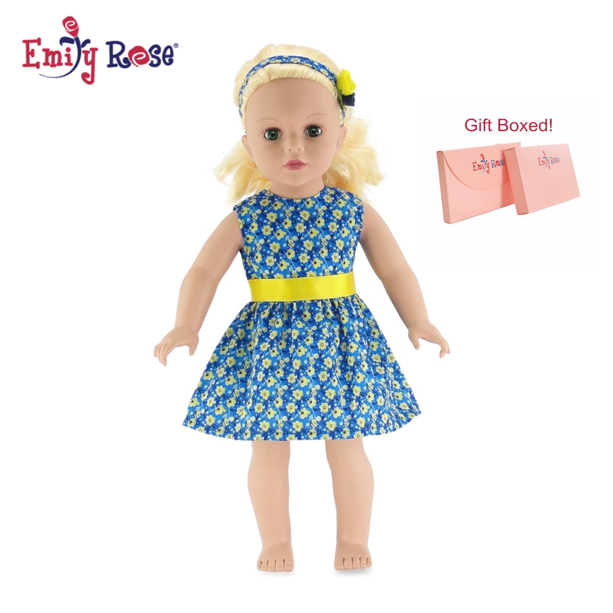 Green /& Yellow Handbag Fit For 18/'/' American Girl Doll Clothes Gift