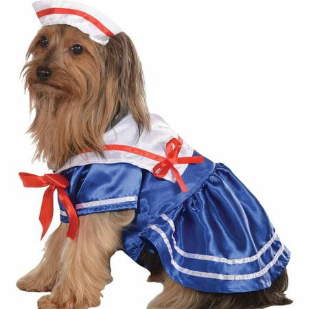 Girl Sailor Costume (Sailor Girl Halloween Pet Costume (Multiple Sizes)