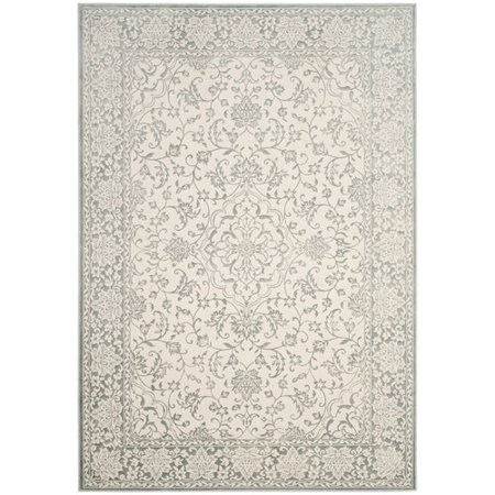 Forestburgh Light Blue Ivory Area Rug