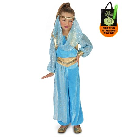 Mystic Genie Child Costume Treat Safety Kit - Safety Costume