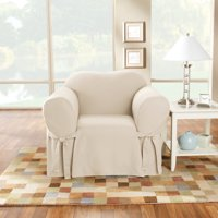 Product Image Sure Fit Cotton Duck Chair Slipcover