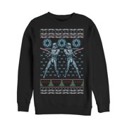 Star Wars Men's Ugly Christmas Sweater Candy Stormtrooper Sweatshirt