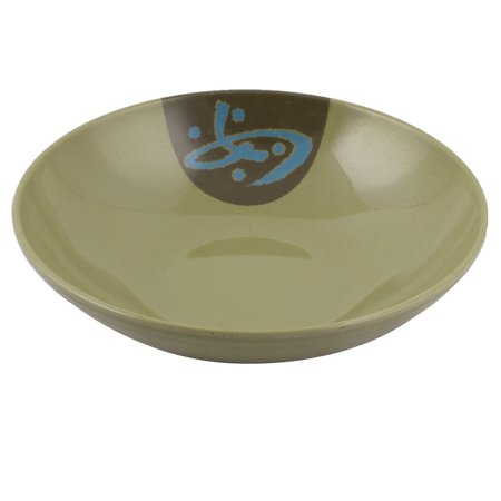 Household Dinnerware  Round Food Noodle Soup Holder Bowl Army Green (Army Food Packs)