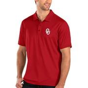 Oklahoma Sooners Antigua Balance Polo - Crimson