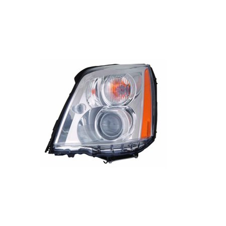 Replacement Depo 332 11B2l Ash Driver Side Headlight For 06 11 Cadillac Dts