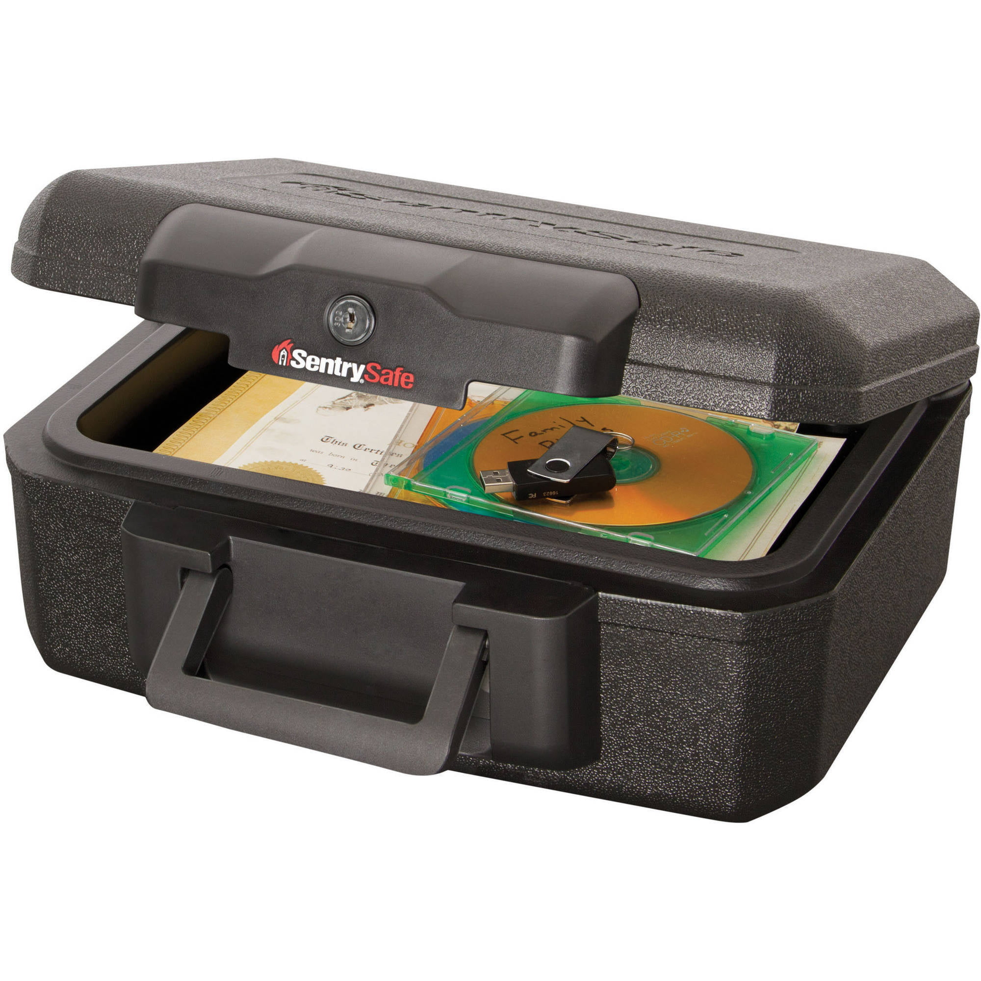sentrysafe 1200 fire safe lock box - walmart