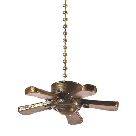Clementine 331 Ceiling Fan Pull Measures 2 1 2 X 2 1 2 X