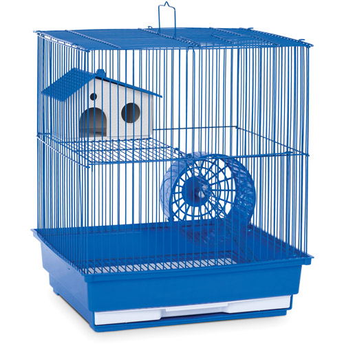 Prevue Pet Products Deluxe Hamster//Gerbil Cage in Bordeaux