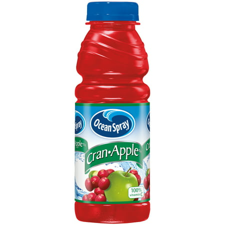 Ocean Spray Cran Apple Juice Drink 15.2 fl. oz. Plastic Bottle
