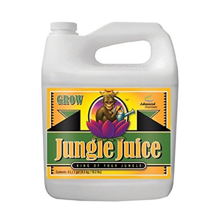 Advanced Nutrients Jungle Juice Grow Fertilizer, 4-Liter [4