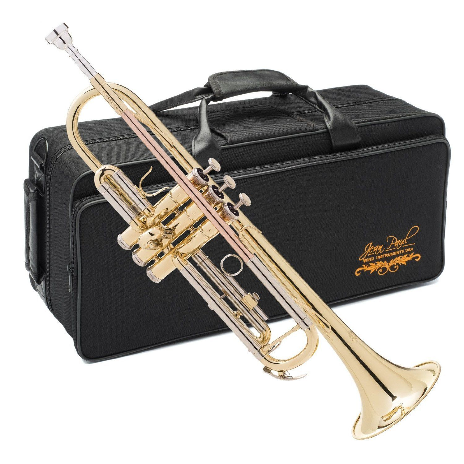 Jean Paul USA TR-430 Standard Trumpet With Adjustable Third Trigger And Carrying Case