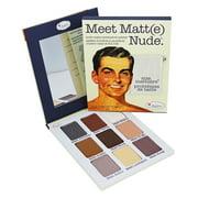 the Balm Meet Matte Nude Eyeshadow Palette 0.9 oz Eyeshadow