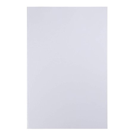 Hardcover Blank Book - Unlined Sketchbook, Unruled Plain Notebook for Sketches, Children's Creative Class Project, Wedding Guestbook, White, 11 x 17 Inches, 18
