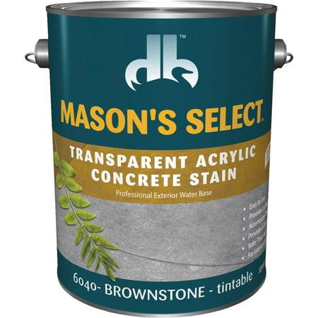 Slate Concrete Stain - Duckback MASON'S SELECT Concrete Stain