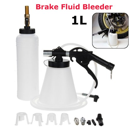 1L Air Extractor Kit Brake Oil Fluid Bleeder Clutch Vacuum Bleeding Fill