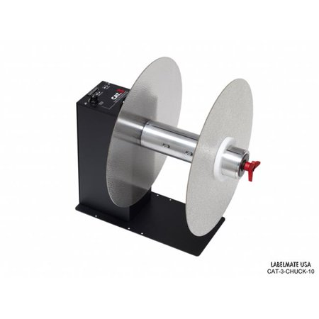 Labelmate USA CAT-3-CHUCK-10 Accessories for Heavy Duty Label Rewinder, Black Avery Heavy Duty Labels