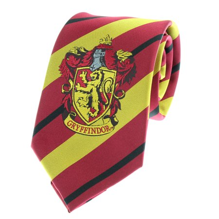 House Tie (Premium Harry Potter Tie Striped House Crest Necktie)