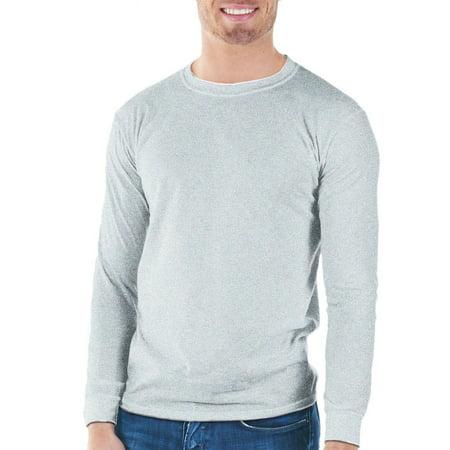 Gildan mens classic long sleeve t shirt for Big tall mens long sleeve t shirts