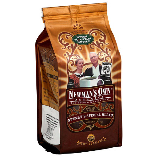 Newman's Own Special Blend Medium Roast Ground Coffee, 10 oz (Pack of 6)