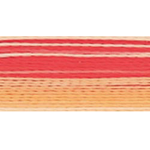 Rayon Super Strength Thread Variegated Colors 700yd-3CC Orange