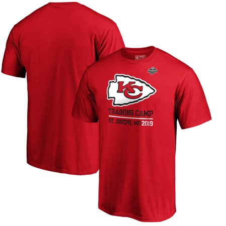 Kansas City Chiefs NFL Pro Line by Fanatics Branded 2019 NFL Training Camp Locale T-Shirt - Red