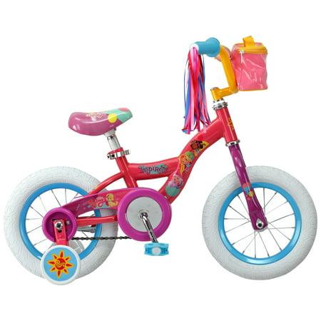 Nickelodeon Sunny Day kids bike, 12-inch wheels, training wheels, Girls, Boys, Pink