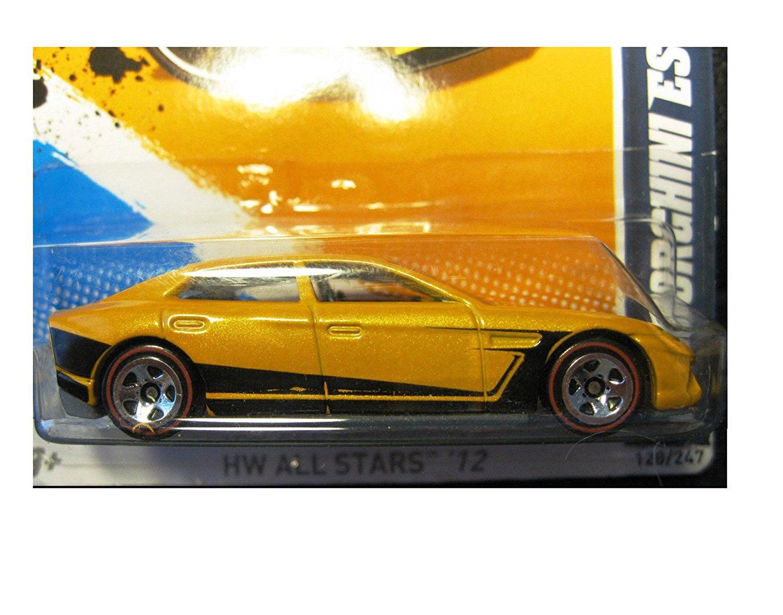 Lamborghini Estoque   Yellow/Black   REDLINES   HW All Stars U002712 [8/10,  128/247], Lamborghini Estoque In Pearl Dark Yellow By Hot Wheels    Walmart.com