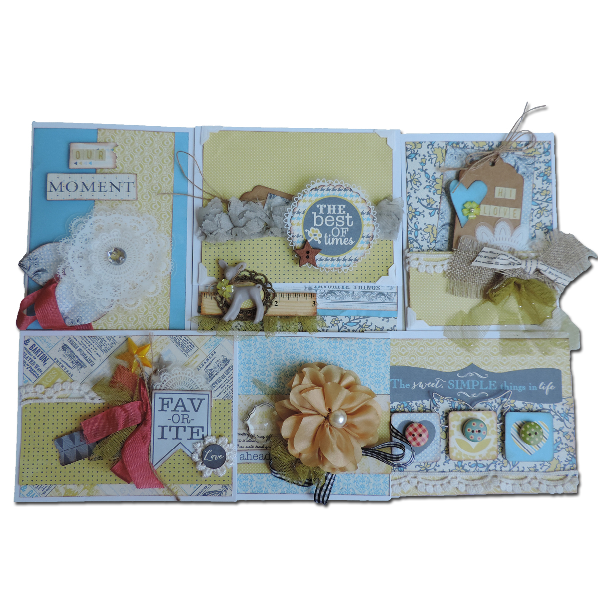 Best Of Times Card Kit-Makes 7 Cards W/Envelopes