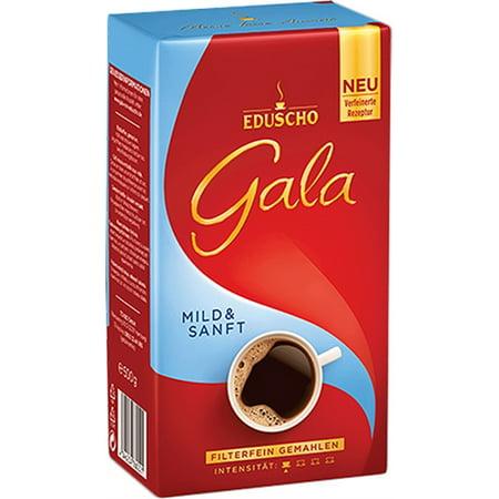 Eduscho Gala Mild Ground Coffee 17.6oz/500g