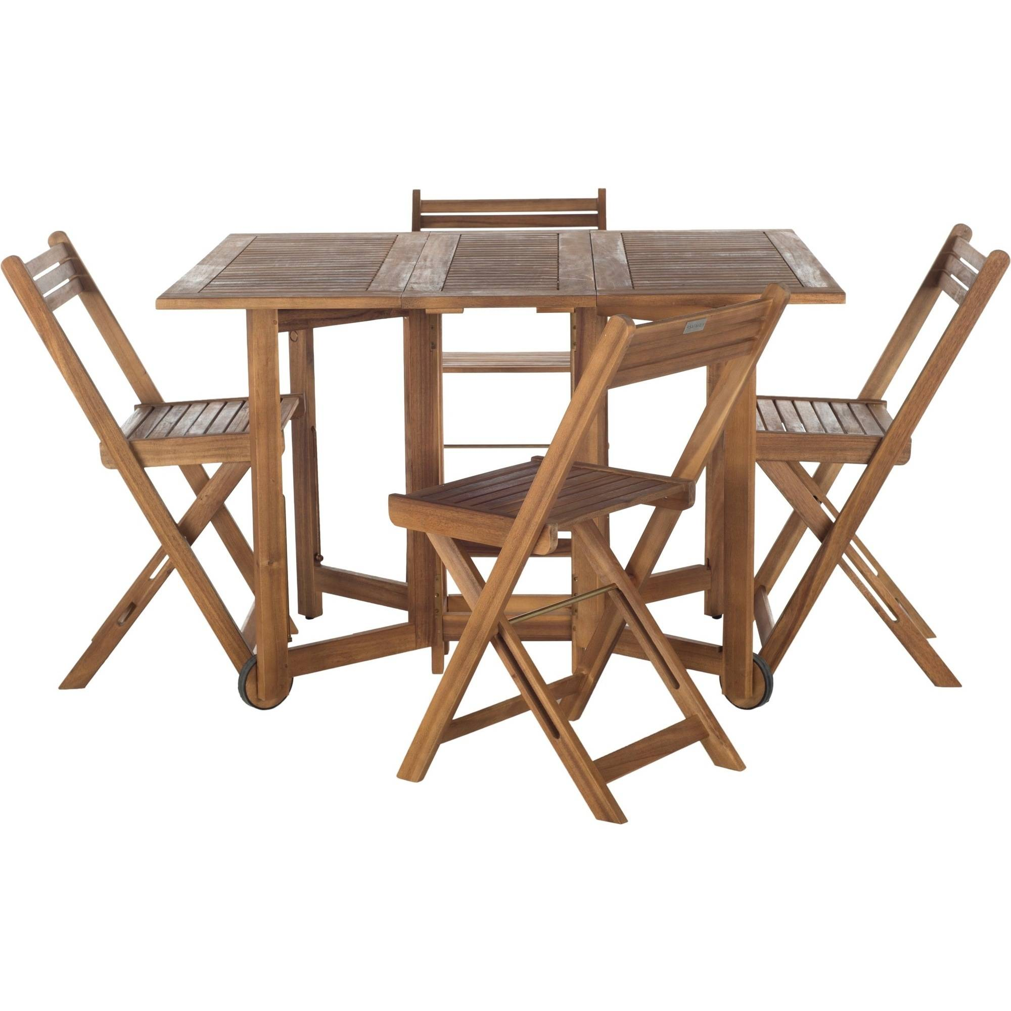 Safavieh Arvin Outdoor Table With 4 Chairs, Multiple Colors   Walmart.com