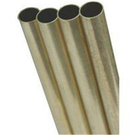 Brass Tube Round 1/16X12 8125 (Round Brass Tube)