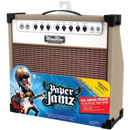 Wow Wee Paper Jamz Brown And White Amplifier
