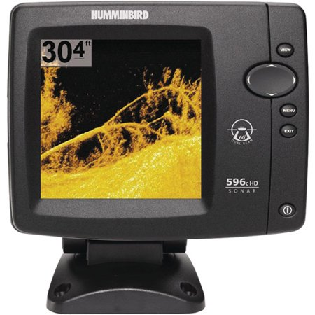 Fishfinder 596c hd di for Walmart fish finder