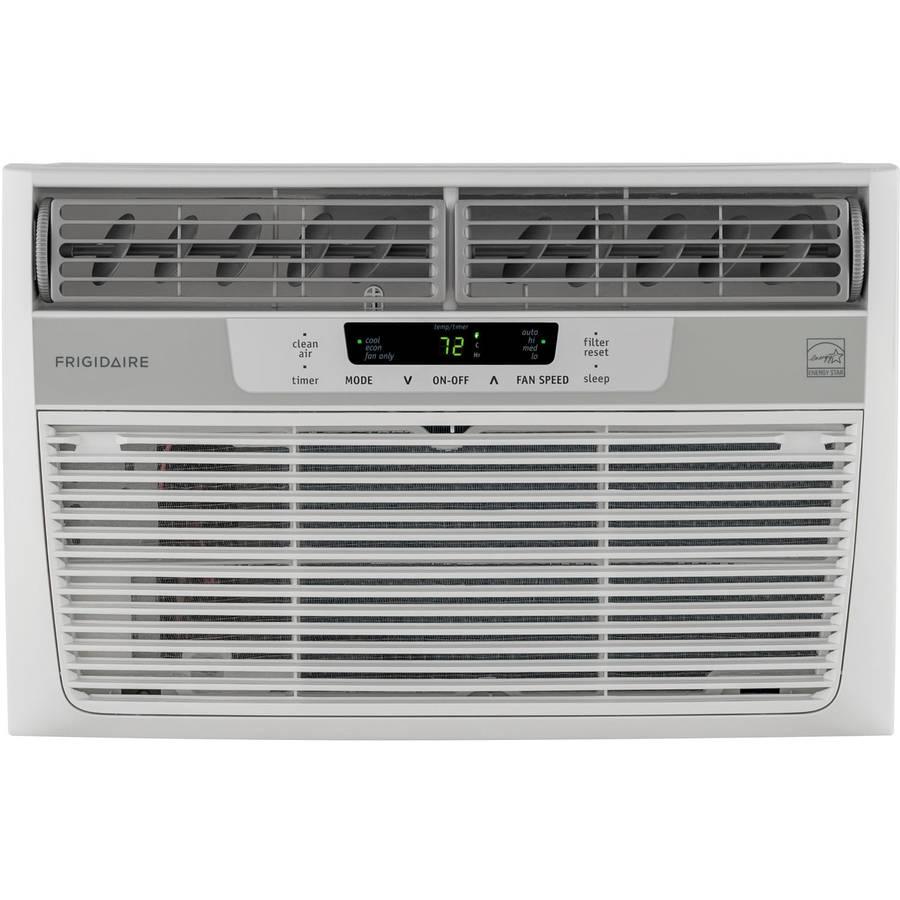 Frigidaire FFRE0833Q1 Energy Efficient 8,000-BTU 115V Window Mounted Mini-Compact Air Conditioner with Temperature Sensing Remote Control